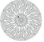 Complex Mandala For Adult