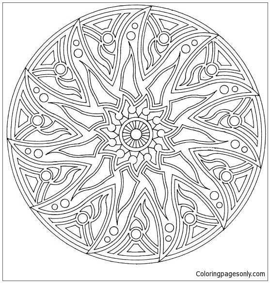 Complex Coloring Pages for Teens and Adults - Best Coloring Pages ... | 583x557
