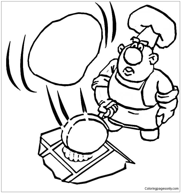 Pancake coloring pages bltidm for If you give a pig a pancake coloring pages