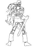 Cool Deadpool 2 Coloring Page