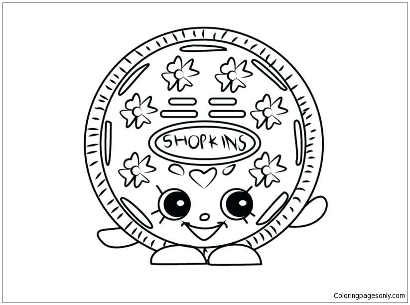 Shopkins Cookie Cookie Coloring Page Www.robertdee.org