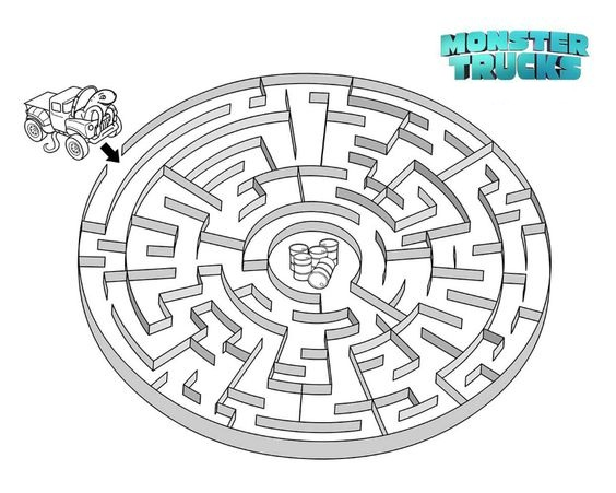Creech Challenges Maze