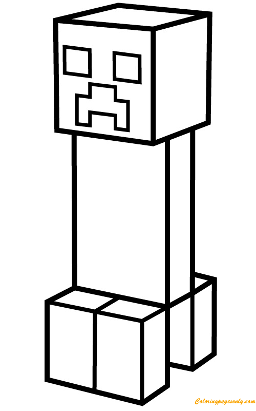 Small House | Minecraft coloring pages, House colouring pages ... | 800x500
