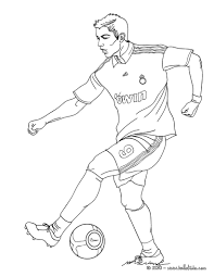 Cristiano Ronaldo-image 12 Coloring Page