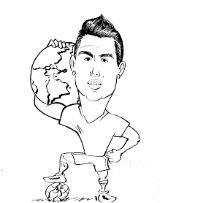 Cristiano Ronaldo-image 17 Coloring Page