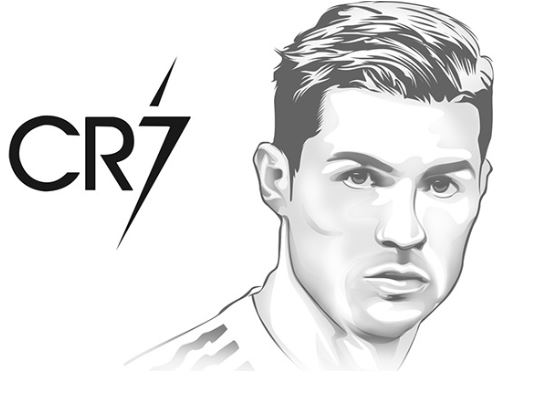 Cristiano Ronaldo-image 7 Coloring Page