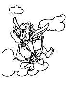 Cupid Throws The Arrow