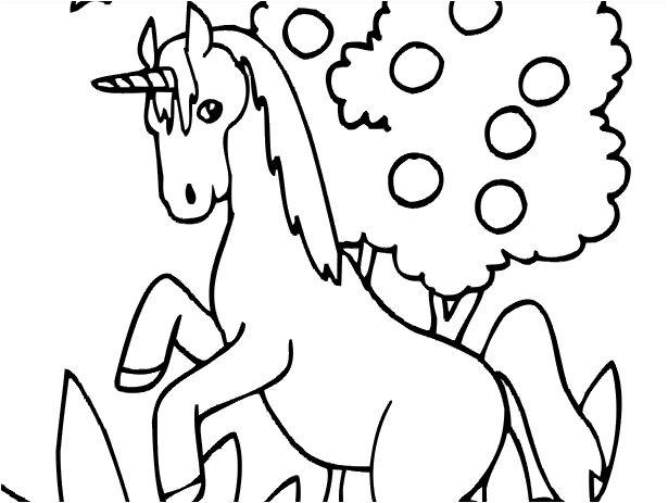 Cute Cartoon Unicorn 2