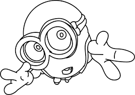 Cute Minion Wallpapers Coloring Page