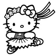 Dancing With Hello Kitty