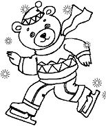 Dancink Bear Winter