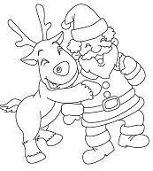Dasher And Santa