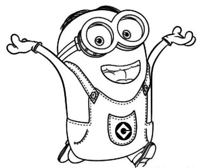Dave The Minion Is Happy