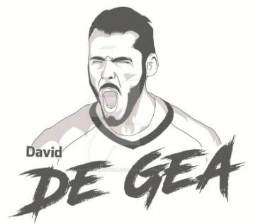 David de Gea-image 5 Coloring Page