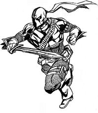 Deadpool 2- image 1 Coloring Page