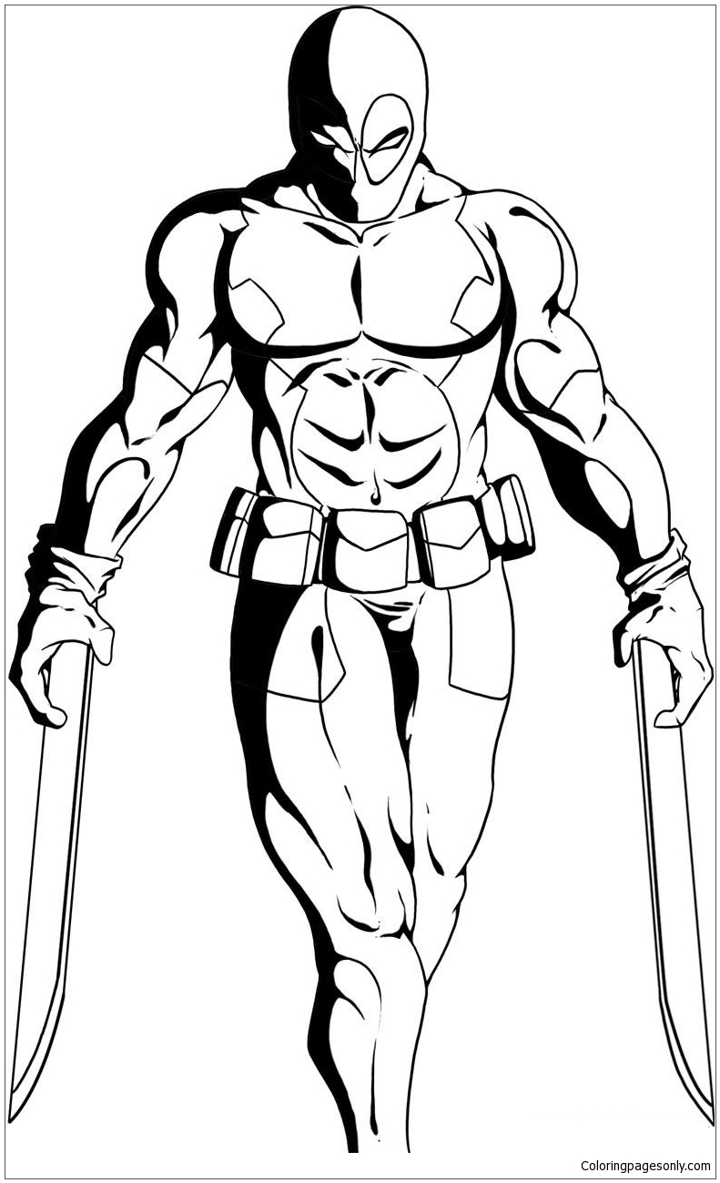 - Deadpool 33 Coloring Page - Free Coloring Pages Online