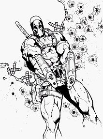 Deadpool Inks