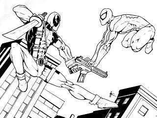 Deadpool Vs Superman Heroes
