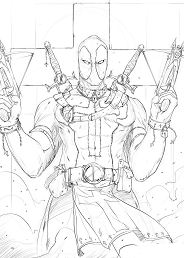 Deadpool With Gun 1