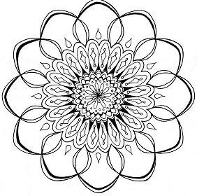 Decorated Mandala