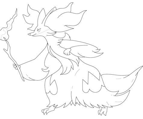 Delphox Pokemon