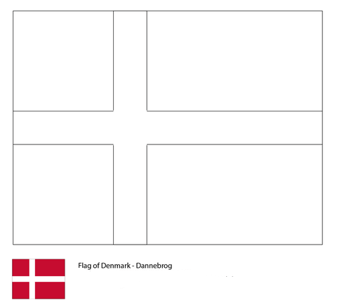 Flag of Denmark-World Cup 2018