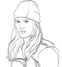 Descendants Jay is Son of Jafar Coloring Page