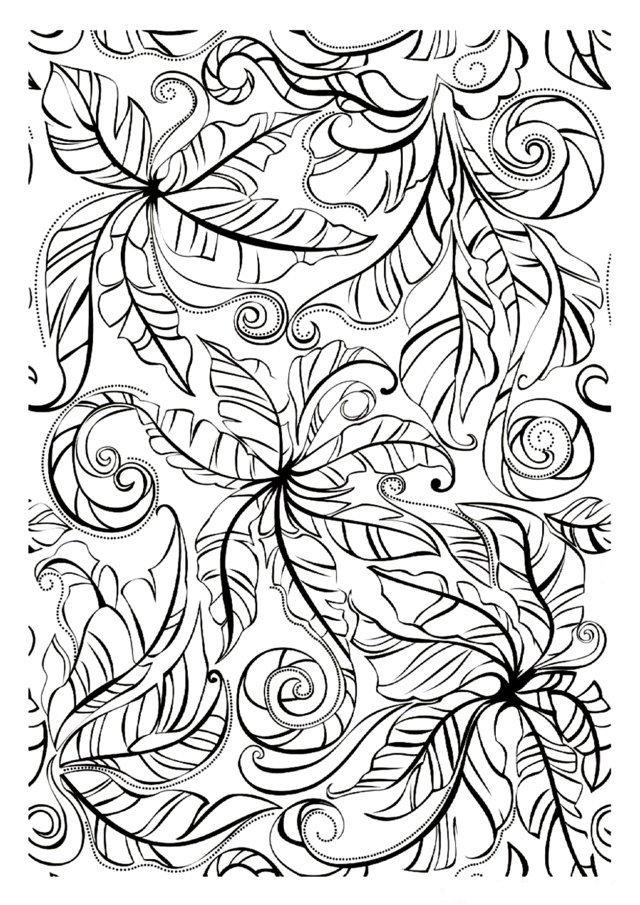 Hard Coloring Pages - ColoringPagesOnly.com