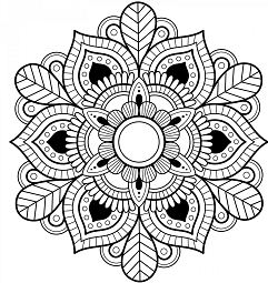 Detailed Mandala