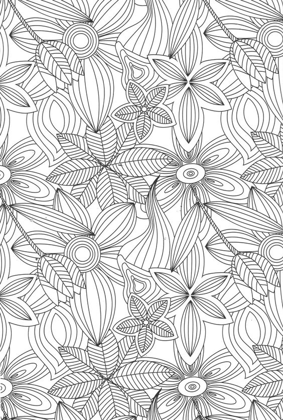 Detailed Picture Coloring Page