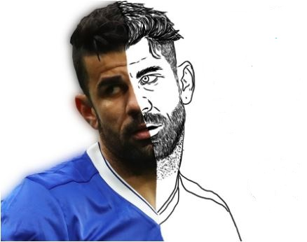 Diego Costa-image 2 Coloring Page