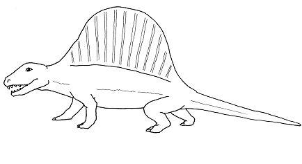 Dimetrodon Dinosaur 1
