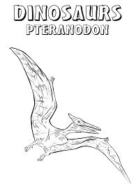 Pteranodon Coloring Pages Coloringpagesonly Com