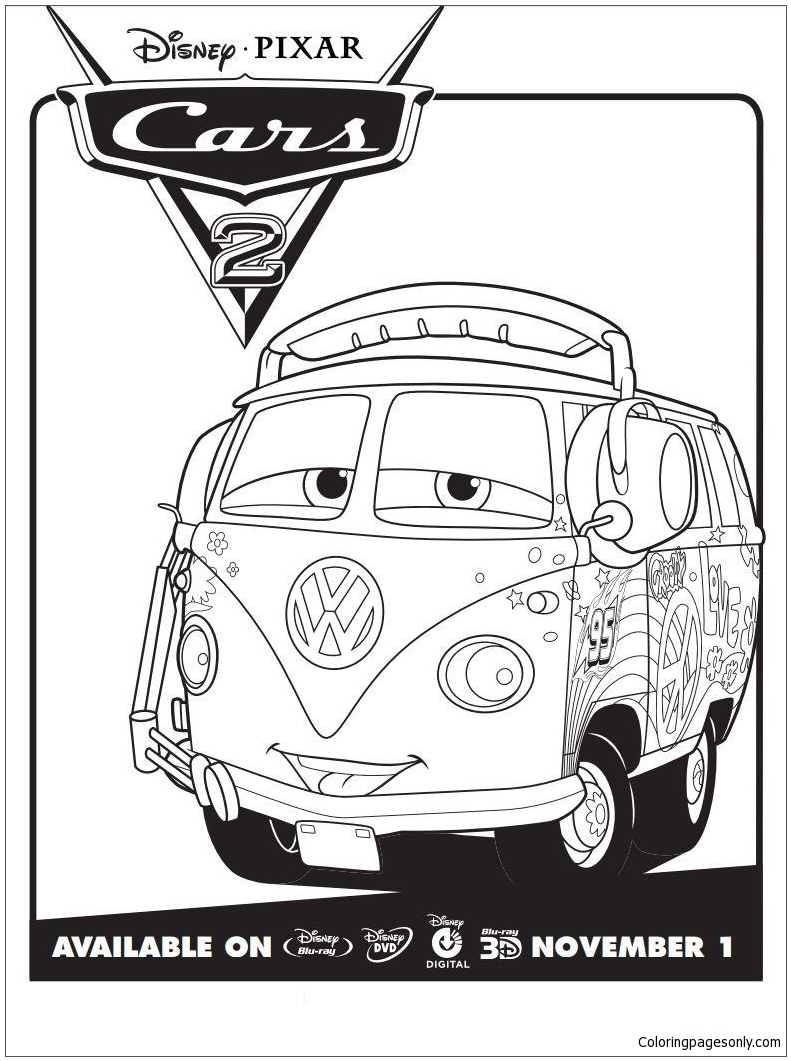 Cars Ausmalbilder Francesco : Cars 2 Coloring Pages For Pic Of Monster High Coloring Pages