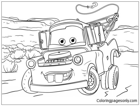 Disney Cars Make Photo Gallery Cars Coloring Page