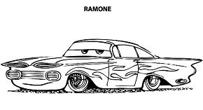 Disney Cars Ramone Lowrider Cars