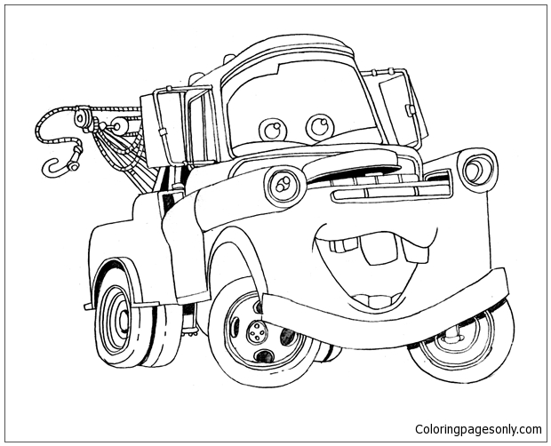 Free Cars Movie Coloring Pages, Download Free Clip Art, Free Clip ... | 502x620