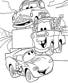 Disney Cartoon For Kids Cars 2e039
