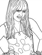 Disney Channel Hannah Montana Movie Coloring Page