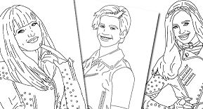 Disney s Descendants Coloring Page