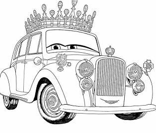 Disney The Queen For Kids Cars 285da