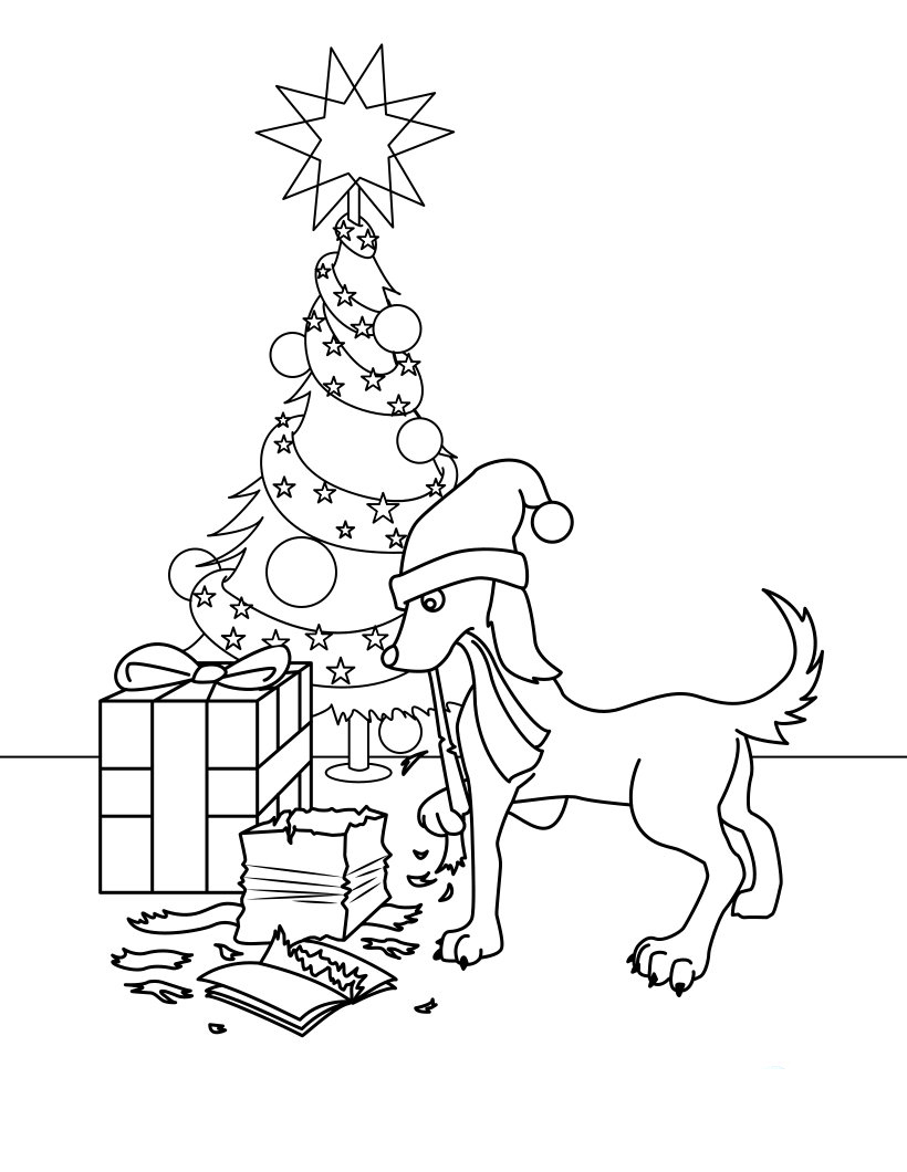 Dog Opening Gifts