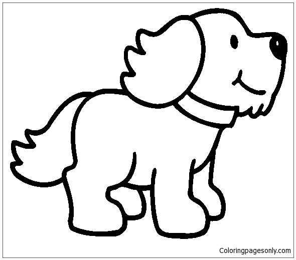 Dog Puppy Coloring Pages Puppy Coloring Pages Free Printable Coloring Pages Online