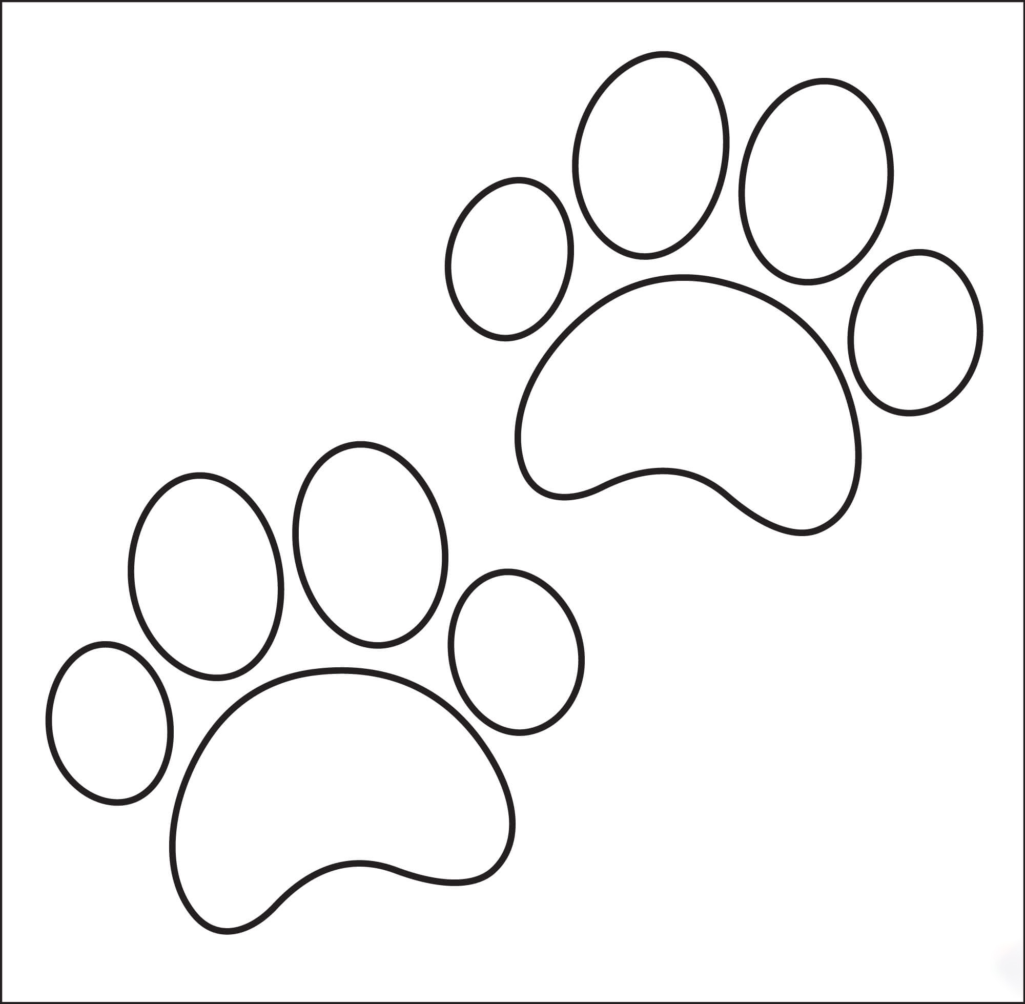Dogpaw Coloring Page