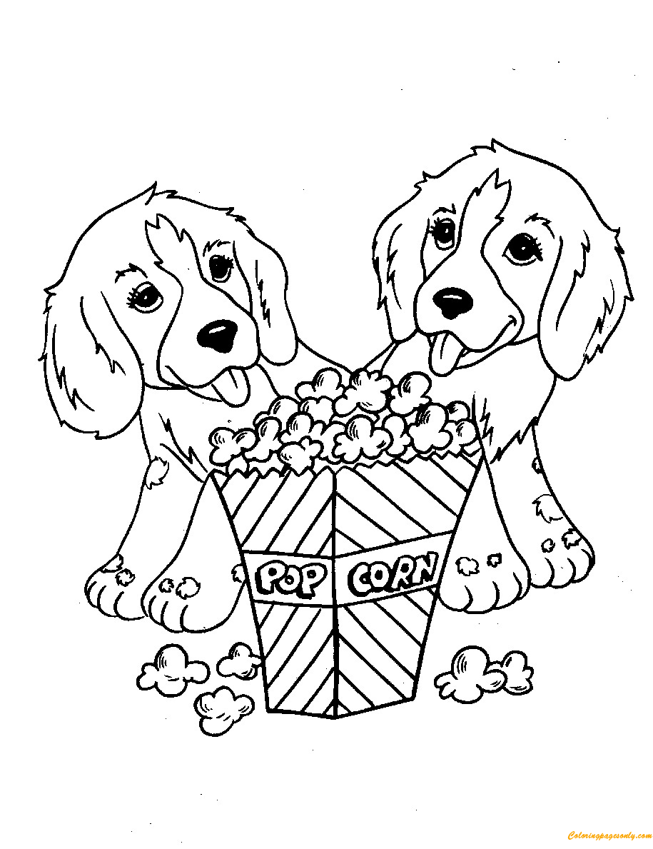 Home - Poppy Corn Shopkin Coloring Page - Free Transparent PNG ... | 1189x915