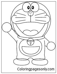 Doraemon 2 Coloring Page