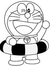 Doraemon 3 Coloring Page