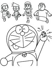 Doraemon And Friends 1
