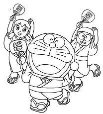 Doraemon And Friends In Summer Festival