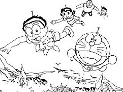 Doraemon And Friends With Dinosaurs